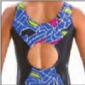 MOTIONWEAR 2-TONE OPEN CIRCLE BACK