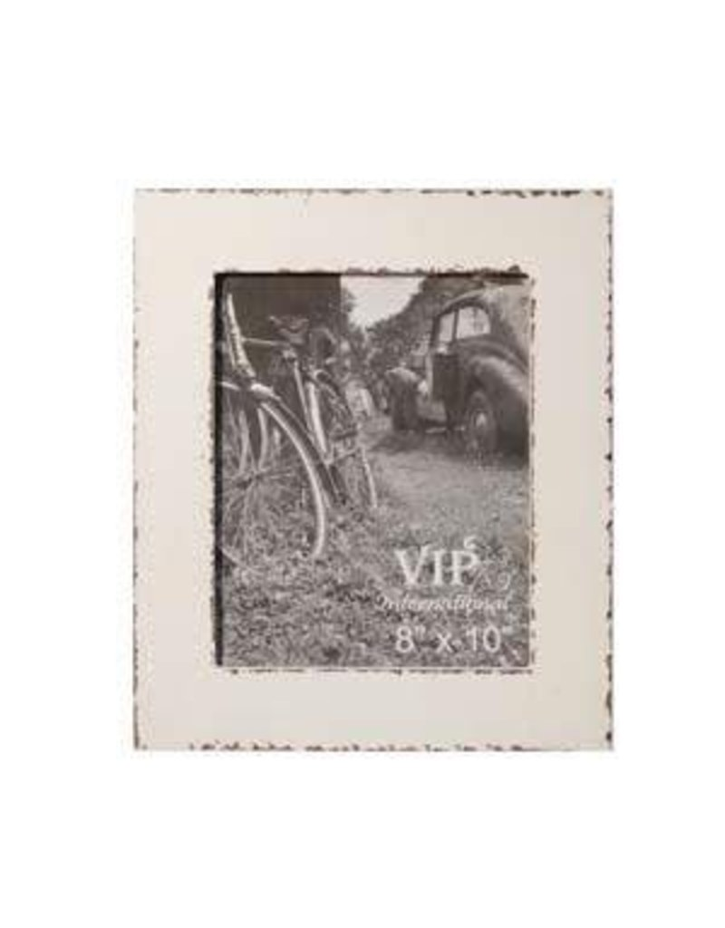 White Picture Frame 8x10 - Dirt Road Rustics