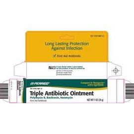 OTC Bac/Neo/Poly Antibiotic Ointment (Neosporin)