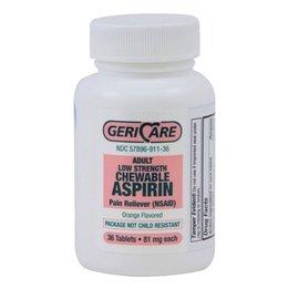 OTC Aspirin 81mg Chewable (St. Joseph) 36 tablets