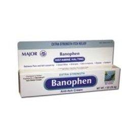 OTC Banophen Anti-Itch Cream (Benadryl)