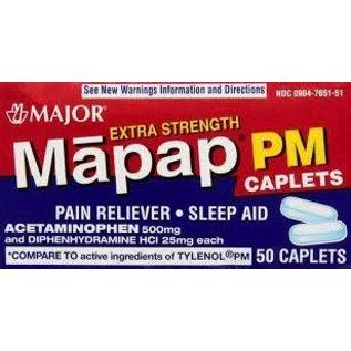 OTC Apap Acetaminophen PM (Tylenol) 500/25mg 50 ct
