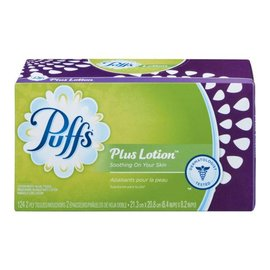 puffs Plus Lotion Tissue 124ct