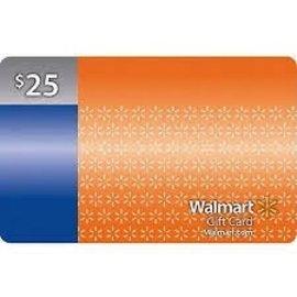 Giftcards - Walmart $25