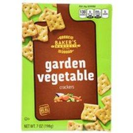 NEW! Garden Vegetable Crackers