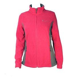 Ladies Colorblock Fleece Jacket