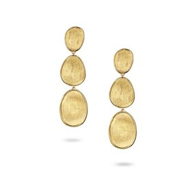 MARCO BICEGO 18K Yellow Gold Small Triple Drop Earrings