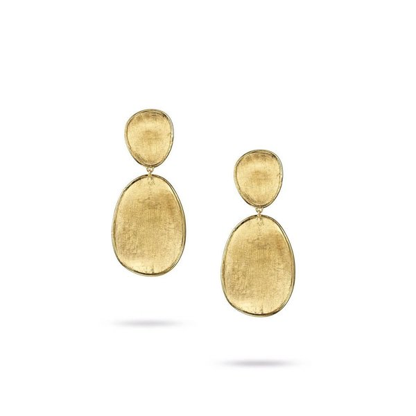MARCO BICEGO Lunaria Gold Small Double Drop Earrings