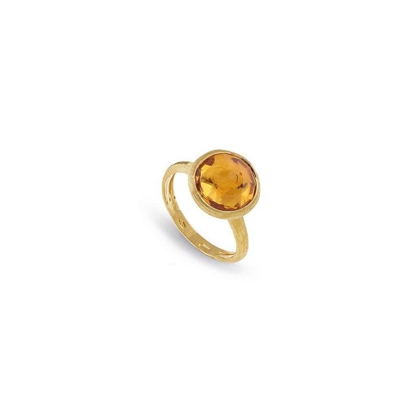 MARCO BICEGO 18K Yellow Gold Citrine Medium Stackable Ring
