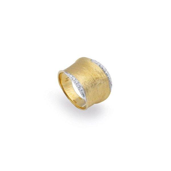 MARCO BICEGO 18K Yellow Gold & Diamond Pave Medium Ring