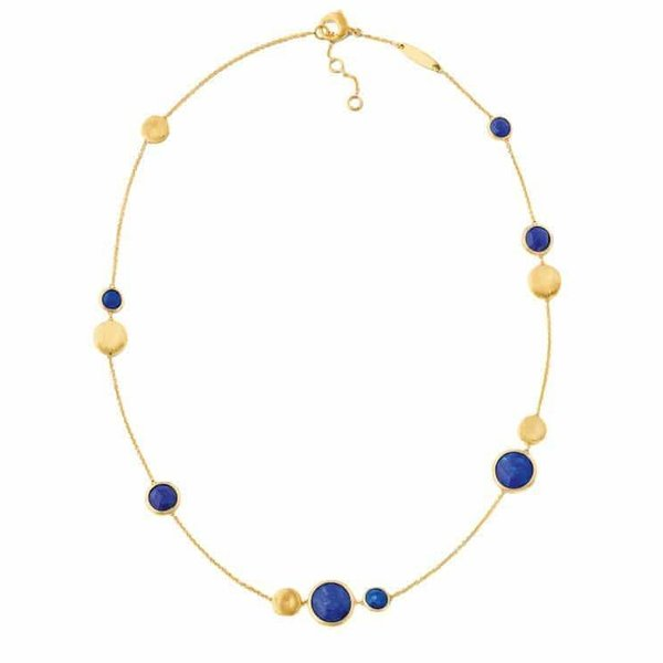 MARCO BICEGO 18K Yellow Gold Lapis Necklace