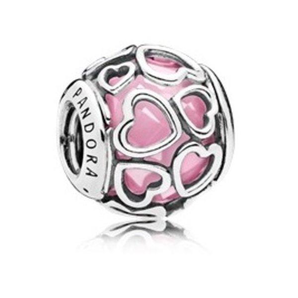 Pandora Encased in Love, Pink