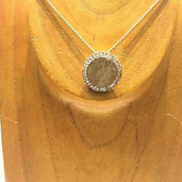 360 Gemstone/Tear Crystal N Orange Calcite
