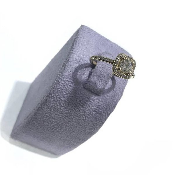 RING 14KY .94CT/H