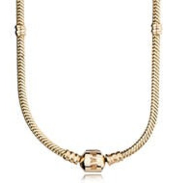 Pandora Gold Signature Necklace, 42cm