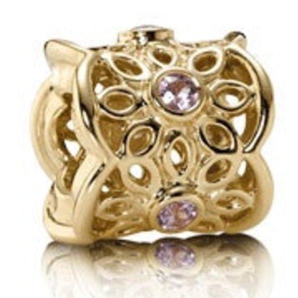 Pandora Golden Radiance, Pink Sapphire