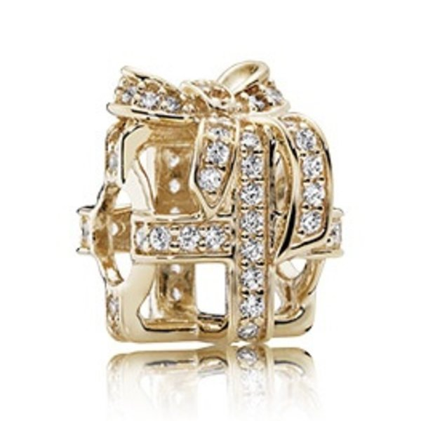Pandora All Wrapped Up, Gold Charm