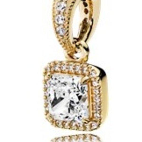 Pandora Timeless Elegance Pendant Charm, Gold