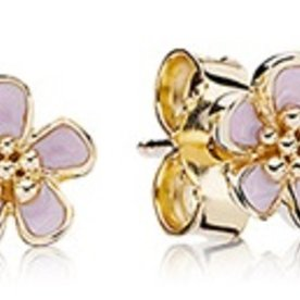 Pandora Cherry Blossom Stud Earrings
