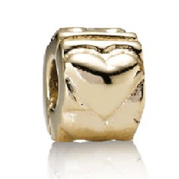 Pandora Heart Clip