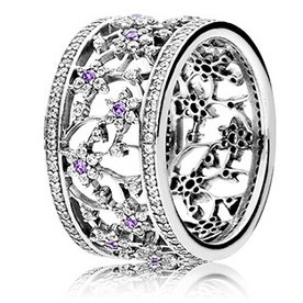 Pandora Forget Me Not Ring, Size 4.5