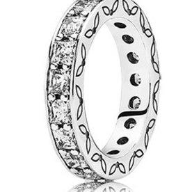 Pandora Infinity Ring, Size 7