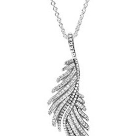 Pandora Majestic Feathers Necklace