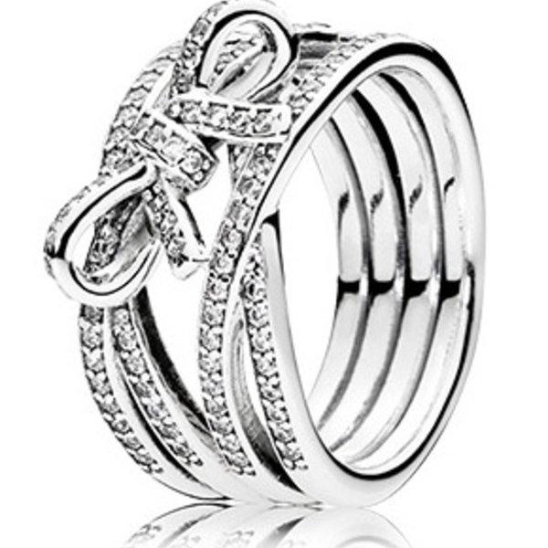 Pandora Delicate Sentiments Ring, Size 4.5