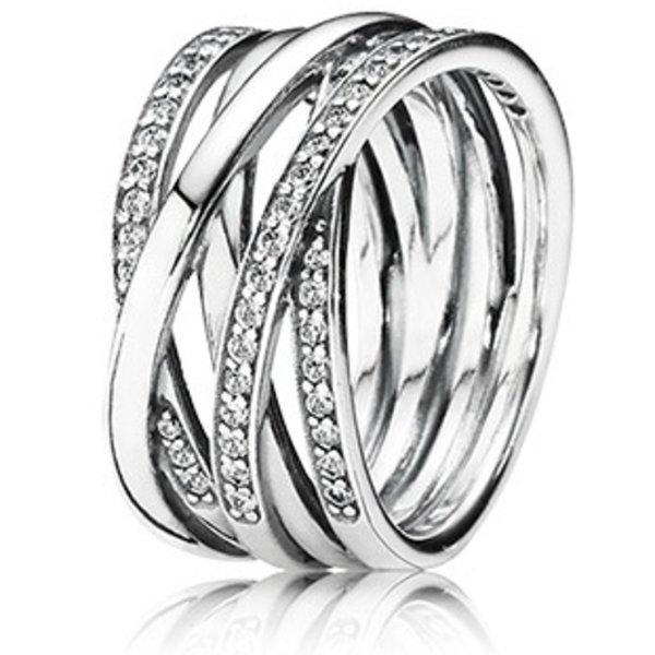 Pandora Entwined Ring, Size 7.5