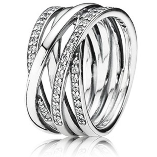 Pandora Entwined Ring, Size 9