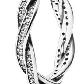 Pandora Twist of Fate Ring, Size 5