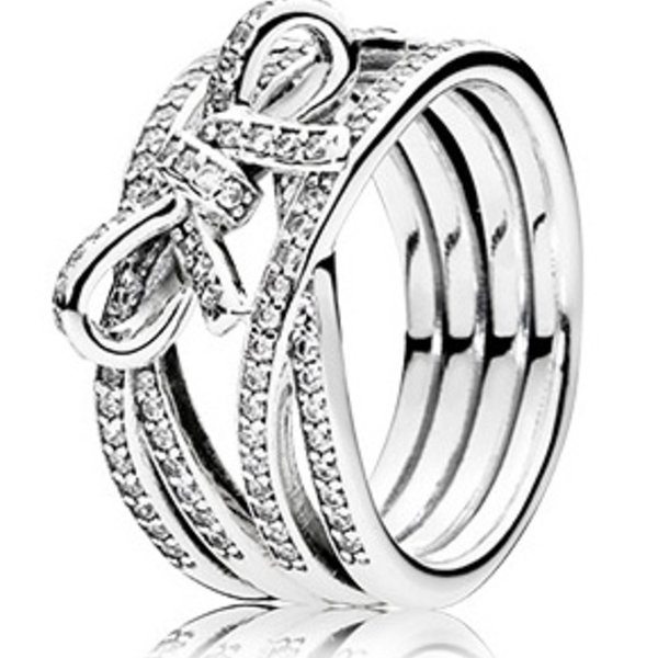 Pandora Delicate Sentiments Ring, Size 7