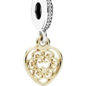 Pandora Magnificent Heart, Clear CZ
