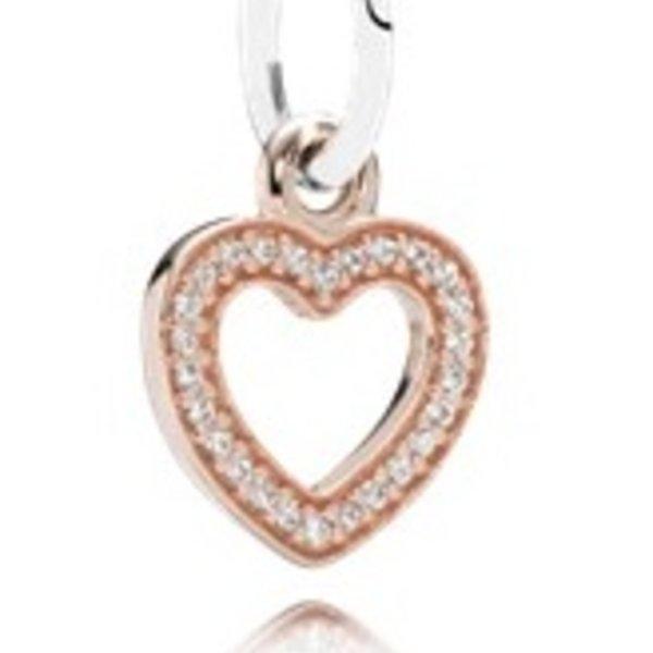 Pandora Symbol of Love, Clear CZ
