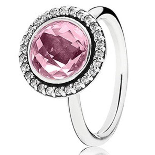 Pandora Brilliant Legacy, Pink & Clear CZ