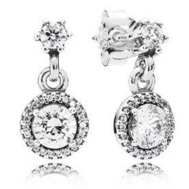 Pandora Classic Elegance Drop Earrings