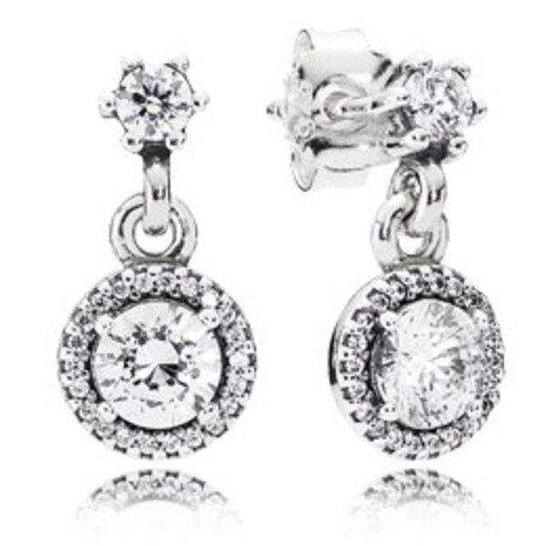 Pandora Classic Elegance Drop Earrings