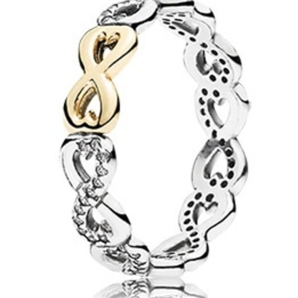 Pandora Infinite Love, Clear CZ
