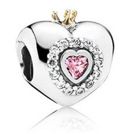Pandora Princess Heart Charm