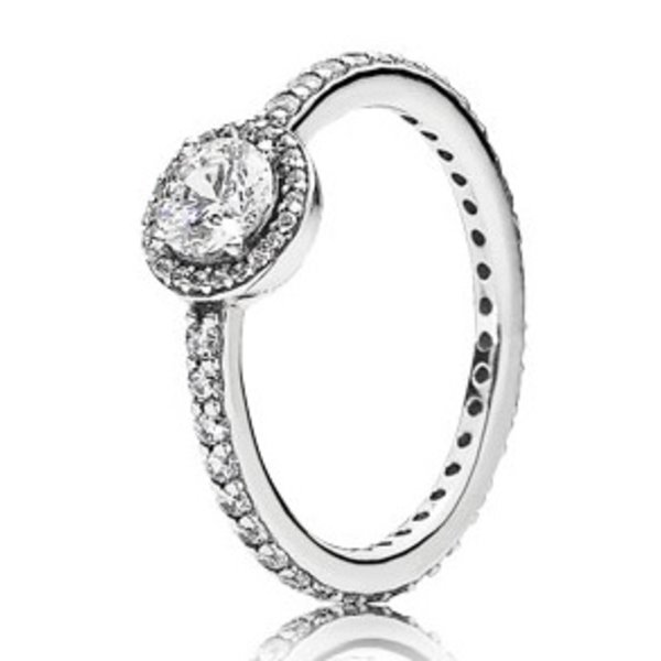 Pandora Classic Elegance Ring, Size 7.5
