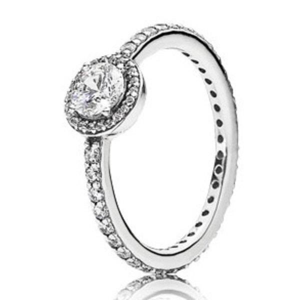 Pandora Classic Elegance Ring, Size 9