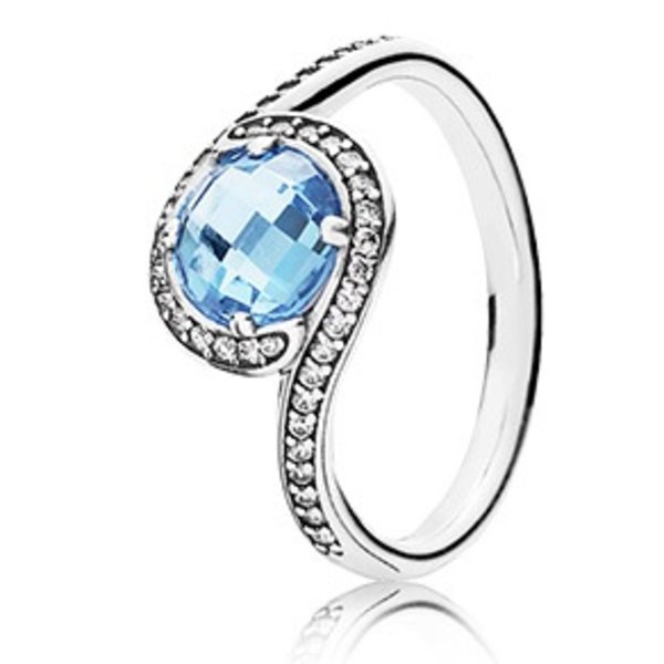 Pandora Cool Breeze, Blue Topaz
