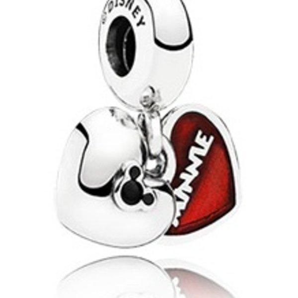 Pandora Mickey & Minnie Charm
