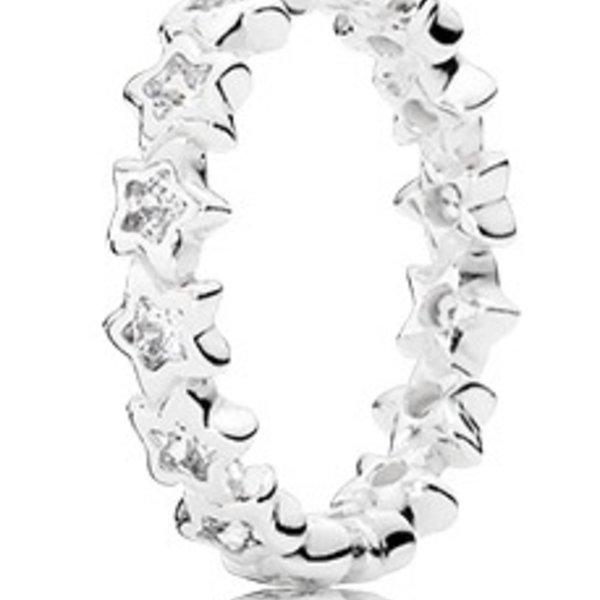 Pandora Starshine Ring, Size 6