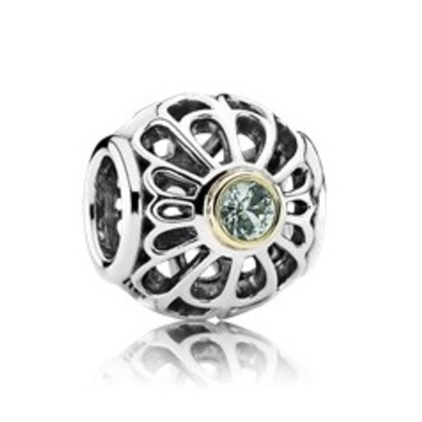 Pandora Vintage Allure, Synthetic Green Spinel