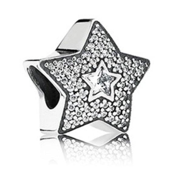 Pandora Wishing Star, Clear CZ