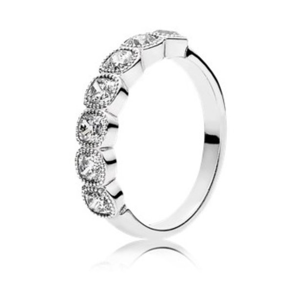 Pandora Alluring Cushion Ring, Size 6
