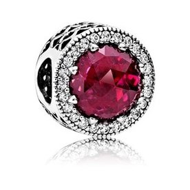 Pandora Radiant Hearts w/Rose-Cut Crystal CZ