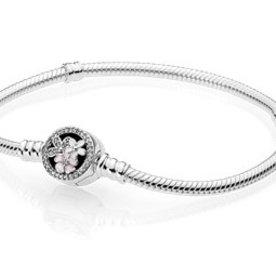 Pandora Poetic Blooms Bracelet, Size 20