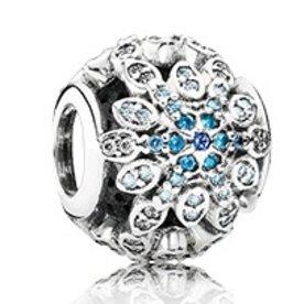 Pandora Crystalized Snowflakes Charm